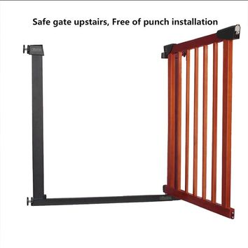 Good quality Gate child gate fence baby gate barrier stair protection gate pet 75-82cm