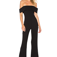 by the way. Aubrey Off Shoulder Jumpsuit in Black | REVOLVE