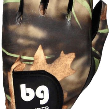 GOLF GLOVE ● Hunting Camo Spandex - Cabretta Leather