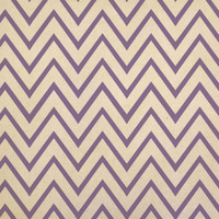 Purple Chevrons Kraft Gift Wrapping Paper