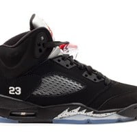 Best Deal Air Jordan 5 Retro Black Metallic 2011 GS