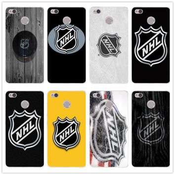 Silicone Soft TPU Mobile Phone Cases Cover for Xiaomi Redmi Mi Note 2 3 3S 4 4A 4X 5 5X 5S 5A 6 6X A1 Pro Plus Nhl Hockey Puck