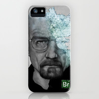 Walter White/Breaking Bad iPhone & iPod Case by Arnaud Gomet