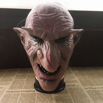 Goblins Halloween Mask Goblins Big Nose Mask Latex Creepy Halloween Costume Party Zombie Scary Face Mask Cosplay