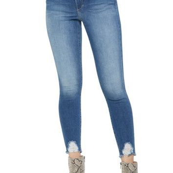 Joe's Honey Curvy High Waist Crop Skinny Jeans (Quinley) | Nordstrom