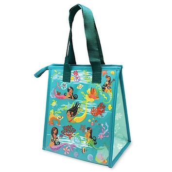 """Island Hula Mermaids"" Insulated Cooler Bag, Small"