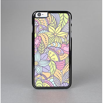 The Subtle Abstract Flower Pattern Skin-Sert for the Apple iPhone 6 Plus Skin-Sert Case