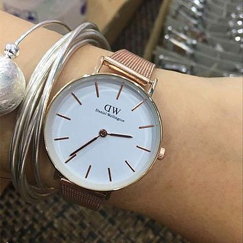 DW Daniel Wellington Fashion Women Men Quartz Watch Wristwatch