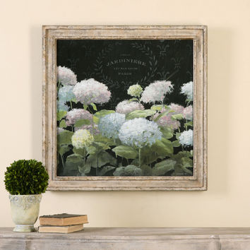 La Belle Jardiniere Crop Framed Art