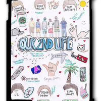 O2L Our Second Life Lyric iPad 2 3 4, iPad Mini 1 2 3 , iPad Air 1 2