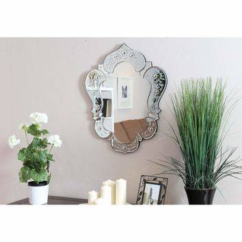 Venetian Glam Transitional  Vanity  Mirror