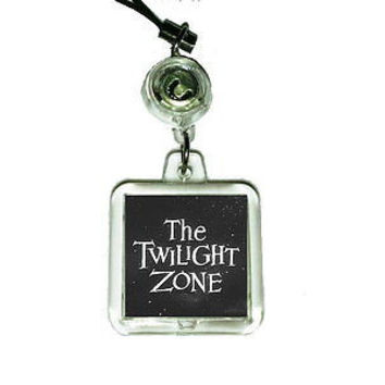 The Twilight Zone Cell Phone Blinking Flashing Charm