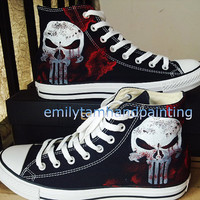 Custom Converse High Top Sneakers