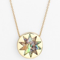 Women's House of Harlow 1960 Sunburst Pendant Necklace
