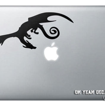 Smaug the Dragon Macbook Decalmacbook decal,Macbook Pro/Air/Ipad Stickers,Macbook Decals,Macbook Pro/ Macbook Air/laptop sticker-081