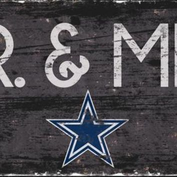 Dallas Cowboys Mr. and Mrs. Sign