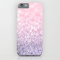 Pink and Lavender Glitter iPhone & iPod Case by Heartlocked