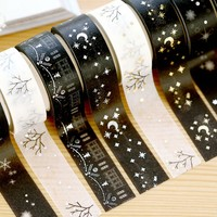 1 PC washi tape DIY decoration scrapbooking planner masking tape adhesive tape stationery Christmas Decorative Tape 15mm 5m
