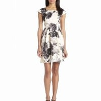 Eliza J Women's Printed Fit-and-Flare Dress