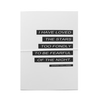 i have loved the stars note card