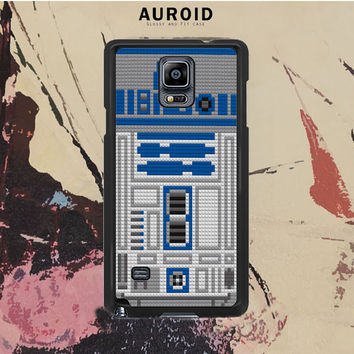 Star Wars R2D2 Lego Samsung Galaxy Note 4 Case Auroid