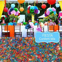 FIESTA Wedding Confetti - Chic Wedding Decoration, Scatters, Confetti, Bulk Confetti, Mexican Wedding, Fiesta Wedding, Multi Color Confetti