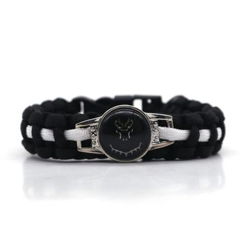 Black Panther Paracord Survival Bracelet