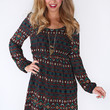 Gypsy Tunes Dress - Navy