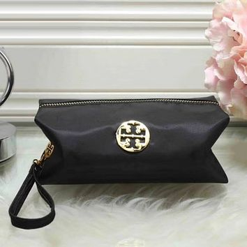 Tory Burch Women Fashion Leather Zipper Wallet Purse
