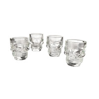 Cranial Hazard Shot Glasses - Set of 4