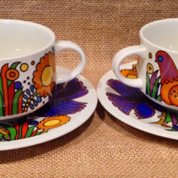 Beautiful cup & saucer sets