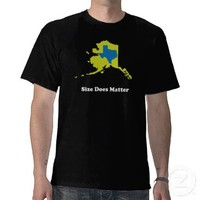 Alaska vs Texas T-shirt from Zazzle.com