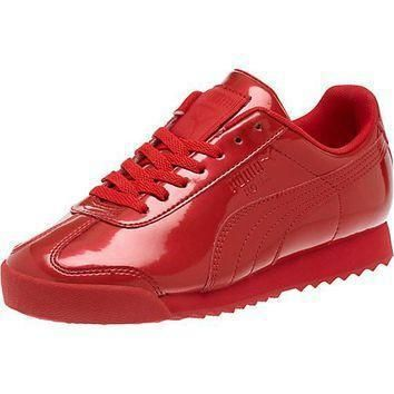 puma roma pnt ano kids sneakers  number 2