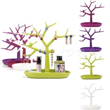 Jewelry Holders Display Organizer lace earring Tree