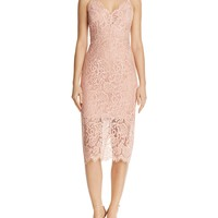 BardotMidi Lace Dress