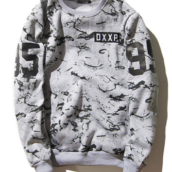 DXXP Unisex Hoodies Pattern Cotton Hats Vintage Sweatshirt [9506896583]