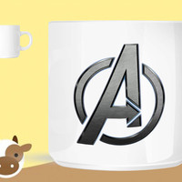 Avengers logo  unique coffee mug