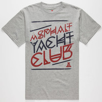 Ayc Geo Logo Mens T-Shirt Heather  In Sizes