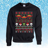 The X-Files: I Want to Believe Ugly Christmas Sweater sweatshirt unisex adults