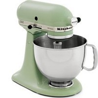 KitchenAid KSM150PSPT Artisan Series 5-Quart Mixer, Pistachio: Kitchen & Dining