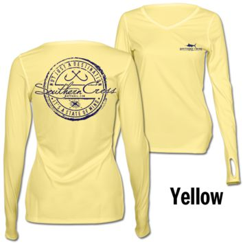 Fishing Stamp Ladies Performance Gear