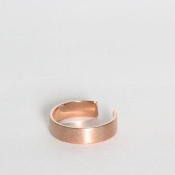Brush It Off Rose Gold Ring