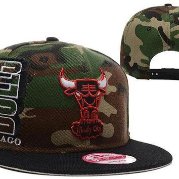 DCCKBE6 Chicago Bulls 9FIFTY NBA Cap Camouflage