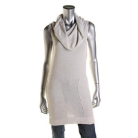 Rachel Rachel Roy Womens Knit Sleeveless Tunic Top