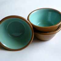 Three 1950s Custard Bowls by Taylor Smith Taylor by OakandHickory