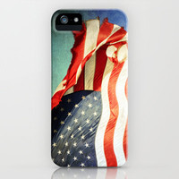 Tattered Flag iPhone Case by Lawson Images | Society6