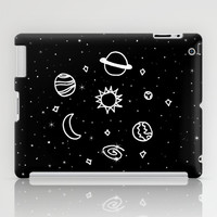 Space iPad Case by Laurel Mae