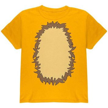 LMFCY8 Halloween Lion Costume Youth T Shirt