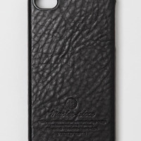 Leather iPhone 4 Cover in black