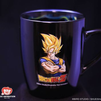 TAZA CERAMICA OFICIAL DRAGON BALL Z GOKU VS VEGETA